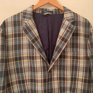 Polo Ralph Lauren madras plaid jacket blazer